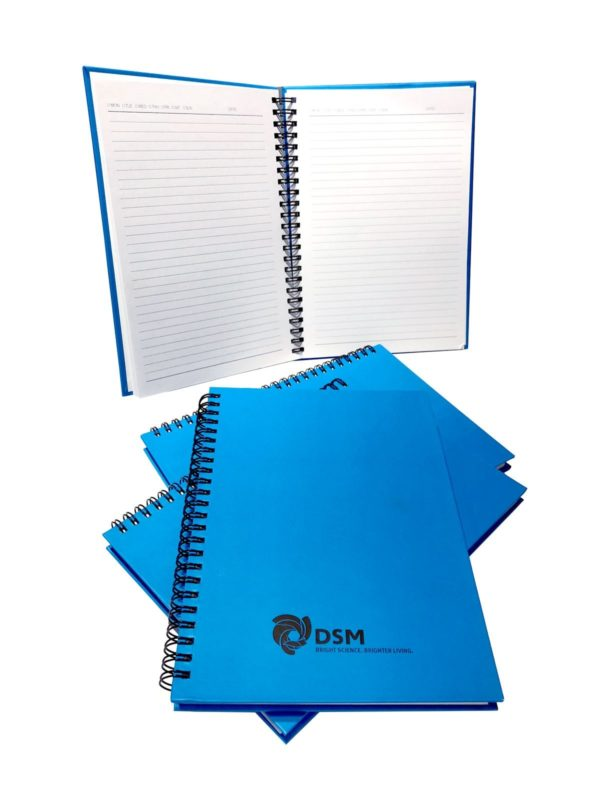 Hardcover notebook,