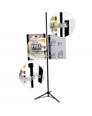 Bunting Clip Stand_Vertor_4Image