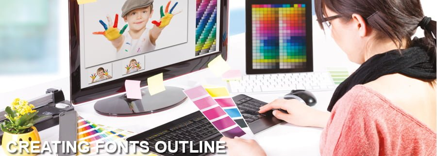 Creating Fonts Outline