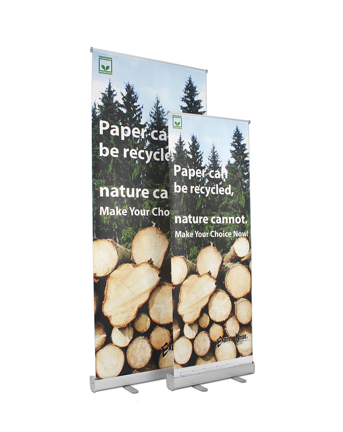Rollup-stand, banner stand, large format print, uv ink
