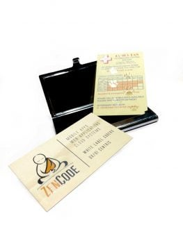 Business Card with Spot UV Effect